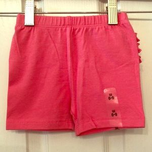 NWT The Children's Place pink baby shorts 6-9mo